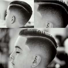 Very smooth burst fade with hard part created by uppercuts http://ultrauppercuts.tumblr.com/post/136926961490