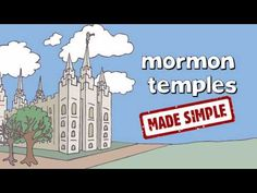 LDS Temples made simple - what goes on inside. Great visual for kids and those who aren't members and have questions about temples. Mormon Temples, Lds Temples, Lds Library, Family Home Evening, Activity Days, Latter Day Saints, What Goes On, Educational Activities, Heavenly Father