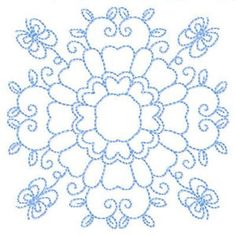 QuiltFlorals - Free Instant Machine Embroidery Designs