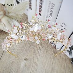 Find More Bridal Hats Information about New Arrival Headband Gold Pink Jewelry Tiara Hair Accessories Wedding Adorno Pelo Novia SQ082 1,High Quality accessories furniture,China accessories fashion Suppliers, Cheap accessories for toyota land cruiser from Suzhou Sanjula Dresses Store on Aliexpress.com
