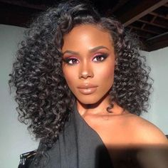Malaysian Kinky Curly Remy Human Hair 3 Bundles With One Lace Closure Cuticle Aligned Wholesale Cheap Human Hair Bundles With Closure – beauty Curly Wigs, Human Hair Wigs, Curly Bob, Dark Skin Makeup, Hair Makeup, Sleek Makeup, Flawless Makeup, Makeup Case, Eyeshadow Makeup