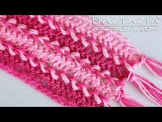 TODAY ON READ ABOUT CROCHET Learn How To Make Easy Hairpin Lace Crochet Scarf or post yours http://readaboutcrochet.com