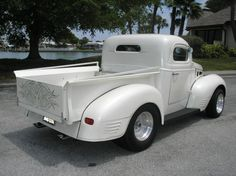 1940 Dodge Custom Pickup Chopped 440 Magnum Auto PS AC Duals
