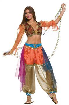 Harem girl costume kids aladdin harem girls on pinterest belly