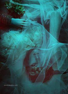 Dead Romance by Amanda Diaz, via Hairpiece inspiration Amanda Diaz, Art Photography, Fashion Photography, Daydream, Fairy Tales, Images, Romance, Poses, Black And White