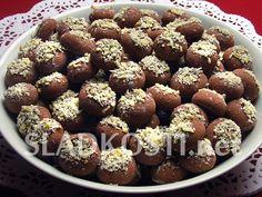 Sádlové koláčky s mandlemi