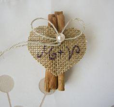 Bunch of cinnamon sticks Wedding guest gift custom by superlunary, $3.00