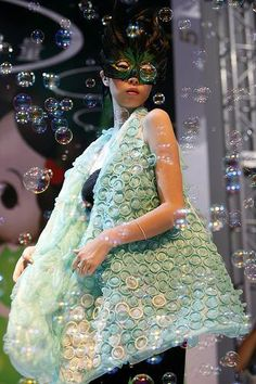 Condom Fashion Show in China. This is awesome.