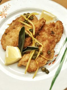 Turkey Escalopes with Capers