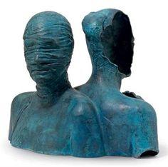 Igor Mitoraj - Double bust