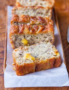 Pineapple Banana Bread (loved it!) made it with 1/2 whole wheat 1/2 quinoa flour and cocunut oil! so yummy! could cut down on the oil as there were a bit greasy