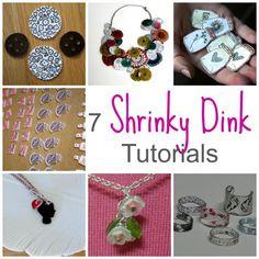 7 Shrinky Dink Tutorials