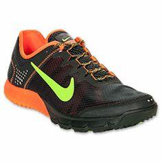 new product 198e9 9b0d2 Men s Nike Zoom Wildhorse Running Shoes   FinishLine.com   Black Spruce  Flash Lime Total Orange
