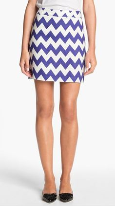 Chevron Skirt... cute and gameday appropriate!