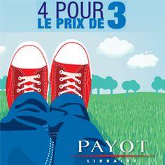 4 livres poches pour le prix de 3 chez Payot Nyon http://www.lacombe.ch/4-livres-poches-pour-le-prix-de-3-chez-payot-nyon.html