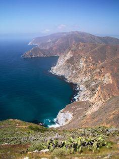 Trans-Catalina Trail - Santa Catalina Island, California, backpacking the island!