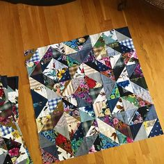 Four more blocks for the #outbackvaluequilt . . . #outbackwife #outbackwifefabric #ellabluefabrics #gertrudemade #barkcloth #quilt #quilts #quilting #quiltblock