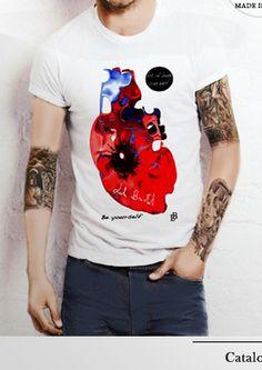 t-shirt heart catalogue Lele Bristol