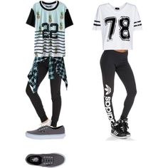 A fashion look from August 2015 by cathnextdoor featuring MANGO, NIKE, adidas Originals and Vans