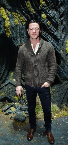 Luke Evans' sense of style is so good it's scary.