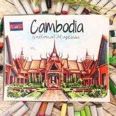 Cambodia. By @irina.shelmenko