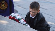 Photos: Ceremony marks anniversary of Parliament Hill attack | CTV News