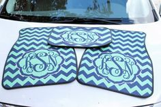 Personalized Car Mats - Monogrammed Car Accessories - Custom Printed Floor Mats - Design Your Own on Etsy, $46.99