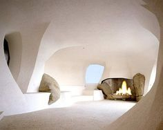 By Jacques Couelle, an inspiration of organic architecture Architecture Design, Concept Architecture, Sustainable Architecture, Contemporary Architecture, Architecture Sketchbook, Pavilion Architecture, Residential Architecture, Landscape Architecture, Victorian Architecture