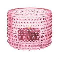 Please know that your presence at our wedding is the best gift of all. Marimekko, Tea Light Holder, Pink Aesthetic, Glass Design, House Colors, Pale Pink, Design Elements, Tea Lights, Favorite Color