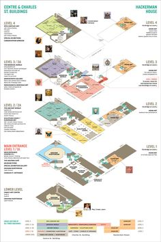 Map of the Walters Art Museum Architecture Concept Diagram, Architecture Panel, Education Architecture, School Architecture, Interior Architecture, Interior Design Presentation, Architecture Presentation Board, Presentation Layout, Wayfinding Signage