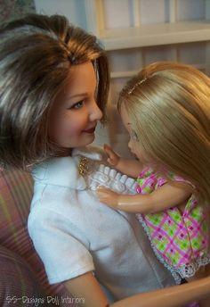 Hugs for Grandma by SS-Designs Doll Interiors, via Flickr