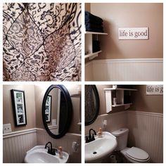 Tiny bathroom redo