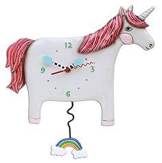 "Allen Designs Unicorn ""Buttercup"" Pendulum Clock Allen Designs http://www.amazon.com/dp/B015HFWLTA/ref=cm_sw_r_pi_dp_rX5gwb0TYBNRW"