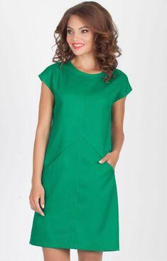 Impressive dress - good photo Source by Dresses simple Linen Dresses, Day Dresses, Cotton Dresses, Cute Dresses, Short Sleeve Dresses, Dresses For Work, Summer Dresses, Simple Dresses, Casual Dresses