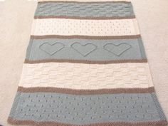 Seaside Blanket Pattern  knit blanket knit por TheKnittingCloset, $6.00