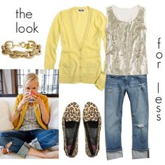 the look for less, created by carrie2.polyvore.com