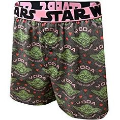 Valentine s Day Gifts for Men Star Wars Yoda One For Me Boxer Shorts 24cd6c112