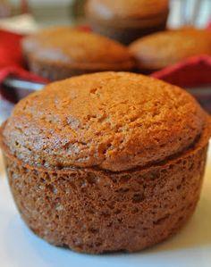 Pumpkin Spice Muffins---No oil, no butter.