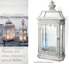 Decorative Arts Lamps Objective Portavelas Candelabro Latón Fusión Cartel