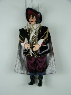 Musketeer, marionette puppet