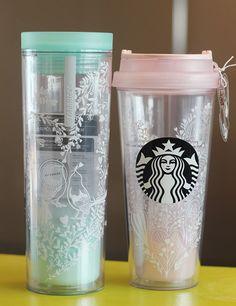 Happy Valentine's Day with Starbucks Korea Lovebird Crosby Lovebird Tumbler SET #Starbucks