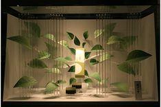 Window Display Design, Store Window Displays, Booth Design, Visual Merchandising Displays, Visual Display, Japan Design, Vitrine Design, Theme Nature, Exhibition Display