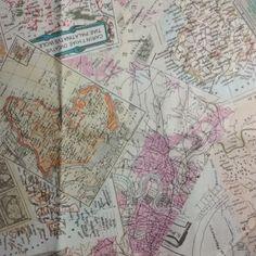 A0013- mapas, fundo bege (especial)