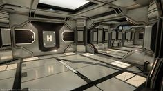 Modular SciFi: Hallways Submitted