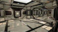 Modular SciFi: Hallways Submitted