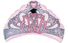 Foil Grad Princess Crown Graduation Balloon - Party City