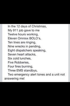 911 dispatcher 12 days of christmas remix - 12 Days Of Christmas Remix