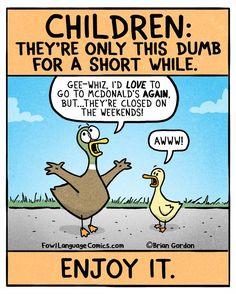 fowl language comics — Carpe D-umb  Bonus Panel I Got An iPhone App!