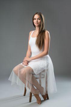 elegant tulle skirt, white lace