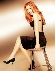Gillian Anderson. My girl crush. The reason I'm a red head.